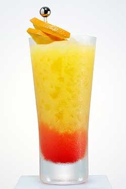 Limon Sunrise This is a beautiful brunch beverage, with a lower ...