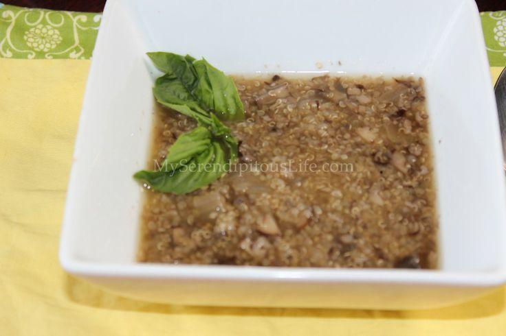 Mushroom Quinoa Soup | Soups for the Soul | Pinterest