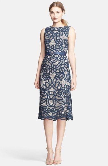 Beautiful blue lace wedding guest dresses pinterest for Beautiful dress for wedding guest
