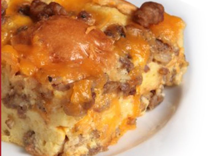 Sausage Breakfast Casserole (Fake sausage for me but still sounds good ...