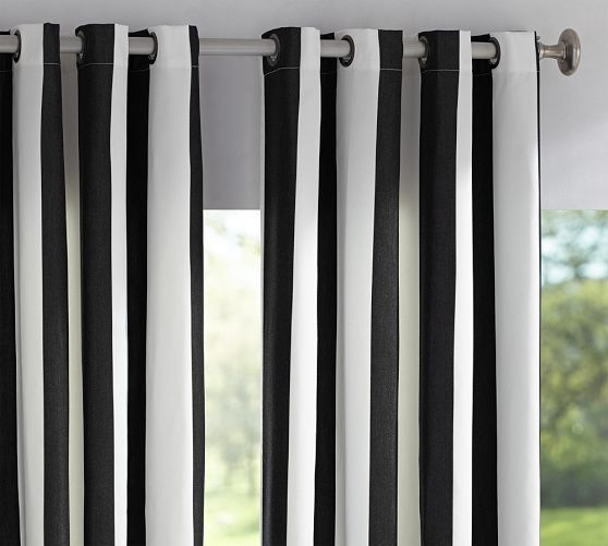 Black And White Striped Curtains Ikea Black and White Rooster Kitche