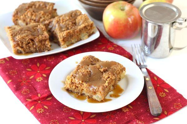 Apple Coffee Crumb Cake with Brown Sugar Glaze | Recipe