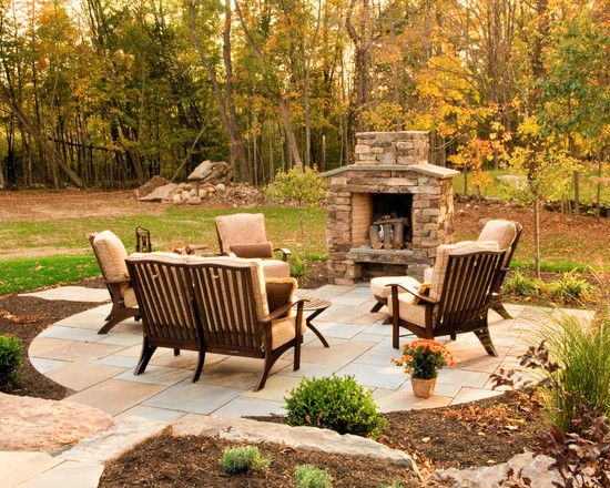 Backyard Fireplace Ideas : Patio Fire Pit Design, Pictures, Remodel, Decor and Ideas  page 10