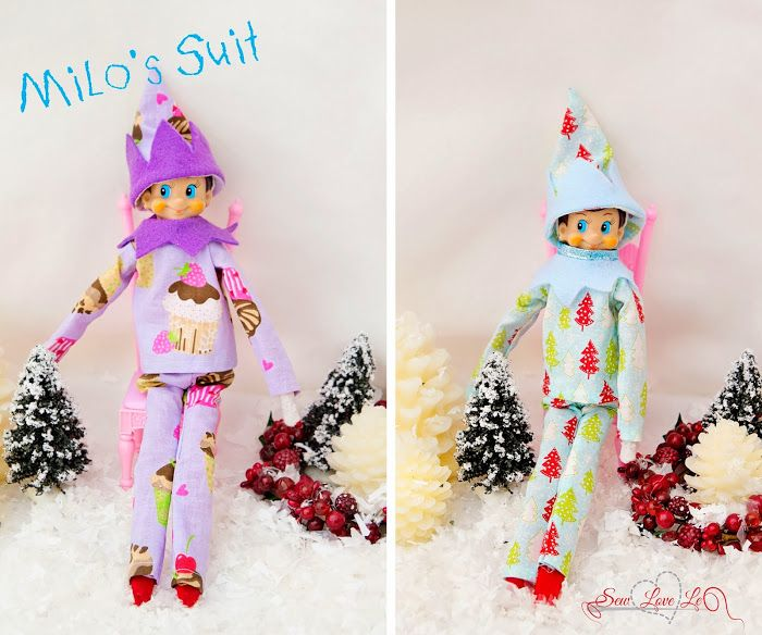 Free Knitting Patterns For Elf On The Shelf Clothes : Elf On The Shelf Clothes Sewing Patterns Share The ...