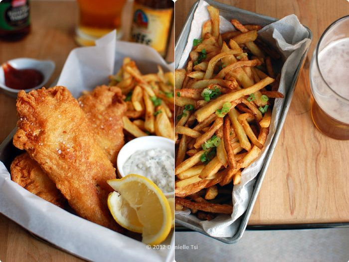 Fish chips seafood recipes pinterest for Fish chips recipe