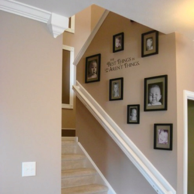 Picture Frame Collage Ideas Home Ideas Pinterest