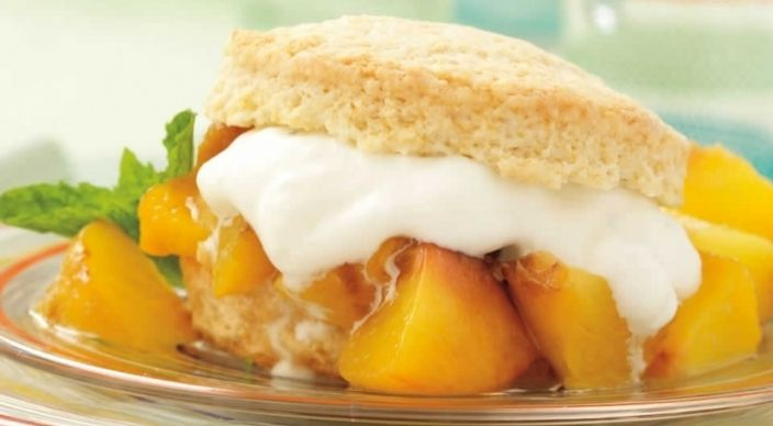 Peach Shortcakes | Weber / Grill Recipes | Pinterest