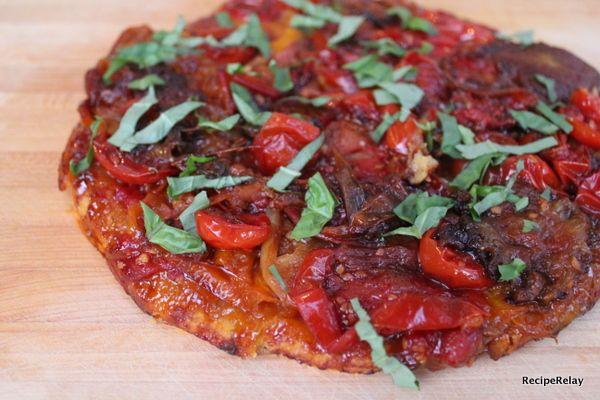 Tomato Tarte Tatin   delicious bites   Pinterest