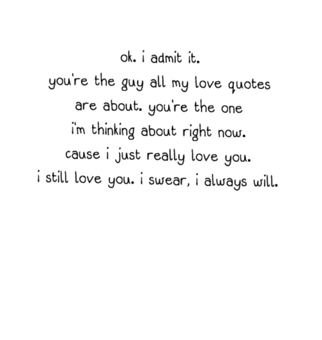 I Love You Kimberly Quotes : admit Love Quotes Pinterest