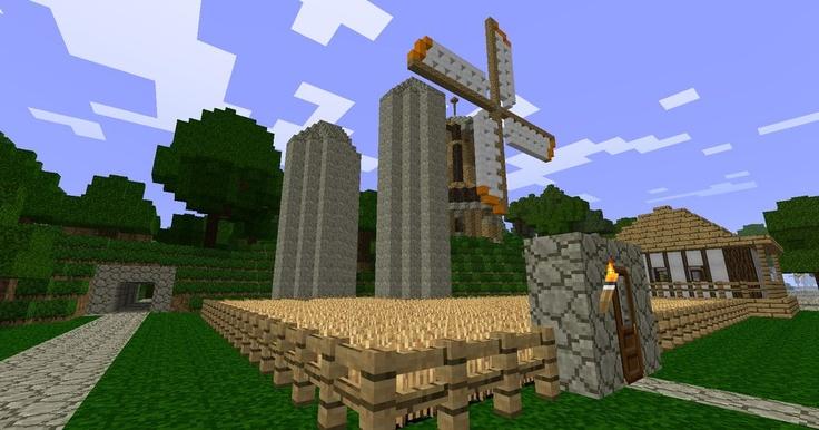 Windmill farm Minecraft Windmill Farm