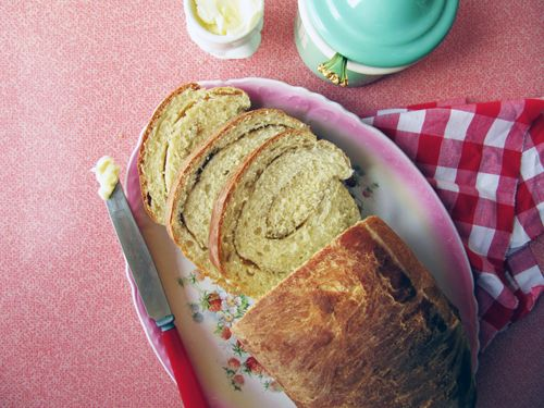 This looks delicious. Orange Cardamom Swirl Bread // from Megan at ...