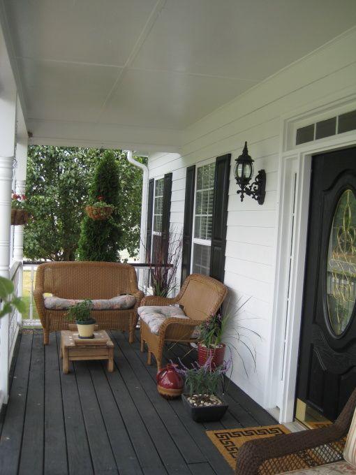 L Shaped Seating Arrangements Front Porch Pinterest