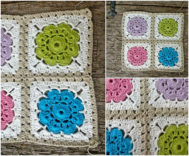 How to join Maybelle Squares Crochet Pinterest