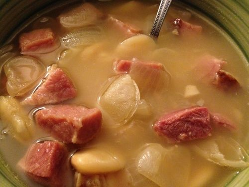 Slow-Cooker Turkey Stew With Lima Beans Recipe — Dishmaps