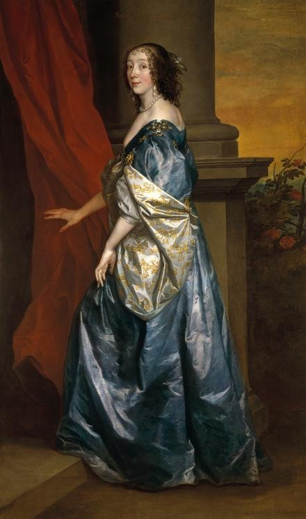 Lucy Hay, Countess of Carlisle, by Van Dyck, c1637.