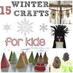 Winter crafts for kids wintercrafts kids crafts pinterest