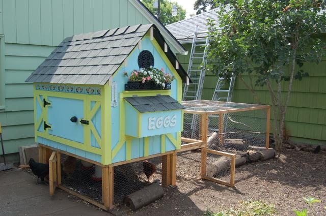 cute chicken coops