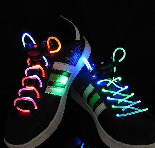 Cool LED Shoes strings makes any shoe more hip