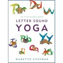 Letter Sound Yoga book is designed to help young kids 3 years and older with their letter sounds while practicing a fun and exciting yoga practice. The DVD is the whole program complementing the book. The DVD goes through the Alphabet with a fun and exciting yoga practice for kids, parents and teachers.