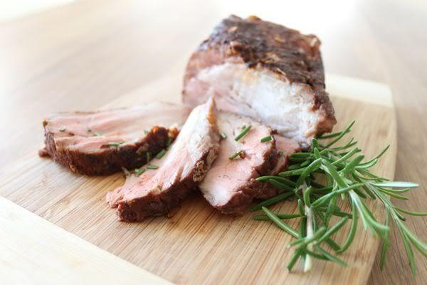 Grilled Pork Loins