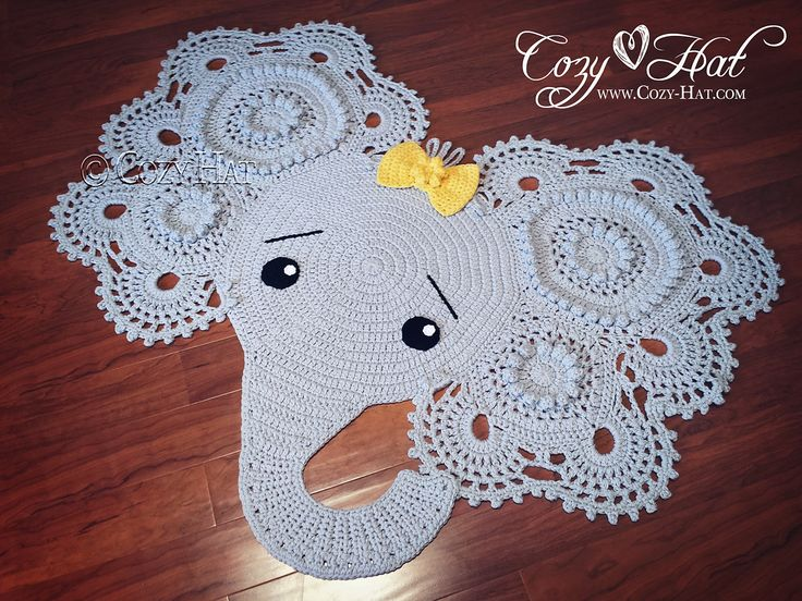 Similiar Printable Elephant Pattern Crochet Rug Keywords