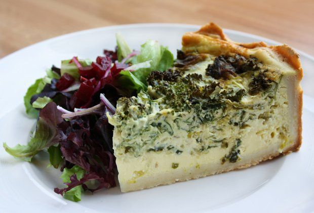 Grilled Asparagus And Feta Quiche Recipe | cookbook - collecting the ...