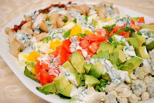 Chicken Cobb Salad with Ranch Dressing | Salads and Dressings | Pinte ...