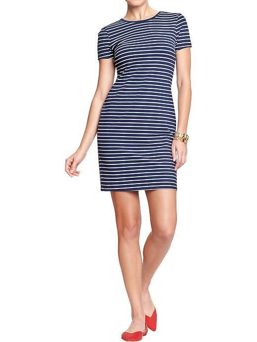 Women s fitted tee dresses wear pinterest