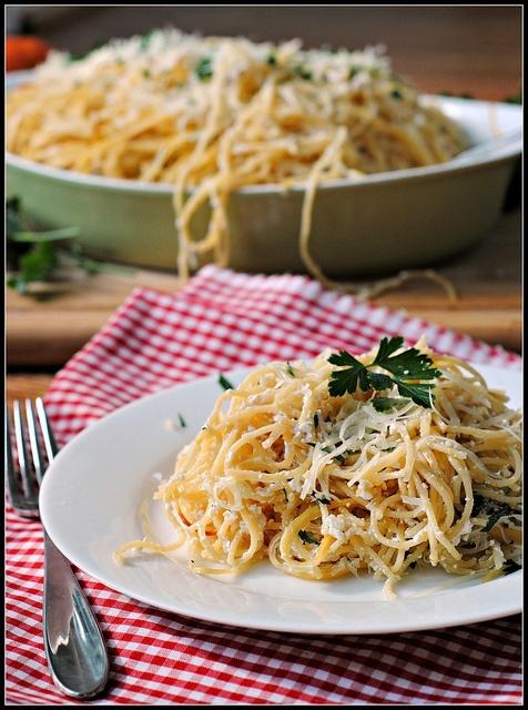 Baked lemon pasta   Food :)   Pinterest