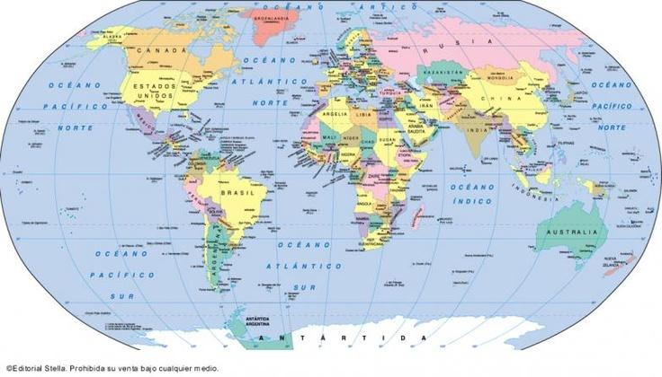 Resultado de imagen para los paises del mundo y sus capitales