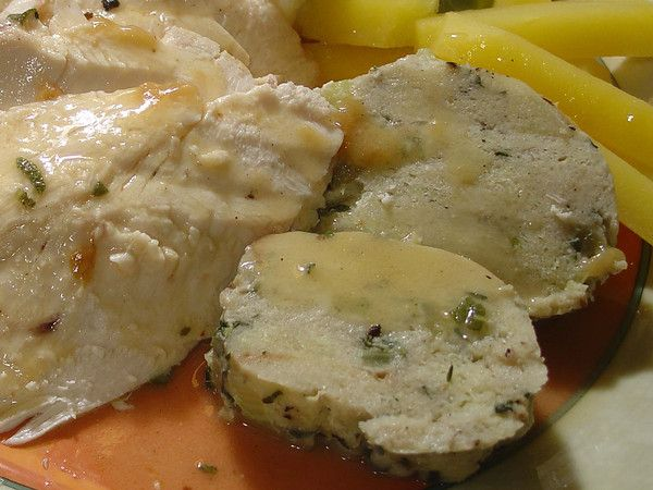 ... German Style Bread Dumpling - Can't wait to make these bread dumplings