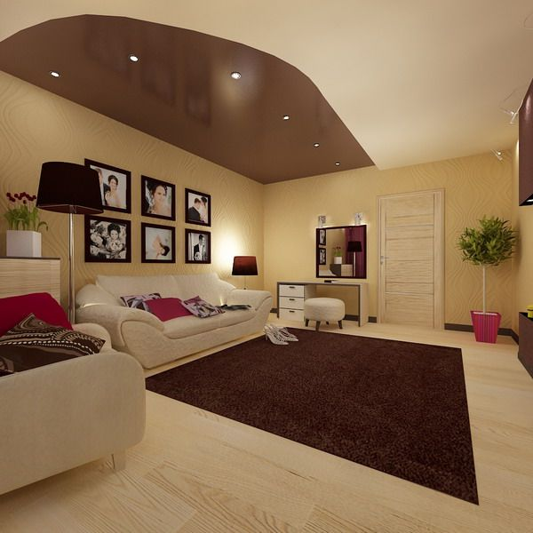 Young couple living room design for Young modern living room