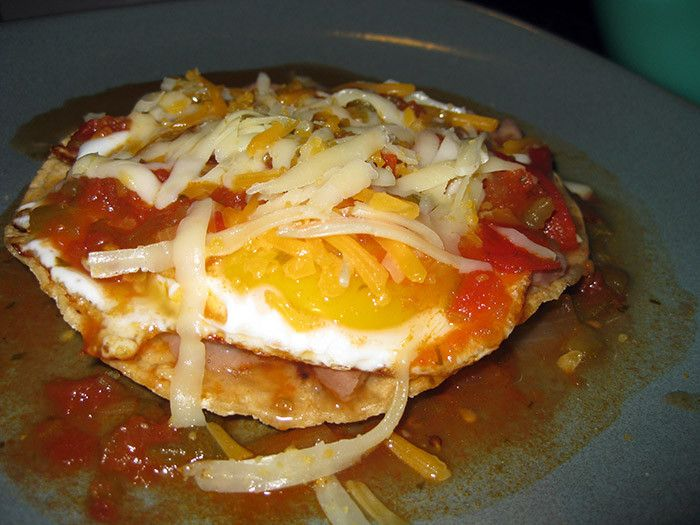 Huevos Rancheros | AUTHENTIC MEXICAN RECIPES | Pinterest
