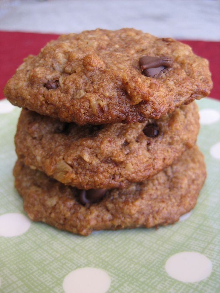 Quinoa Chocolate Chip Cookies | INDULGENCE | Pinterest