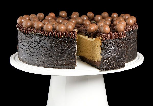 Cappuccino-Fudge Cheesecake www.gracessweetlife.com #cheesecake # ...