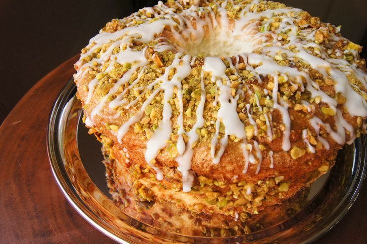 ... Sunday Mornings: Lime Angel Food Cake with Lime Glaze | Ipso Fatto