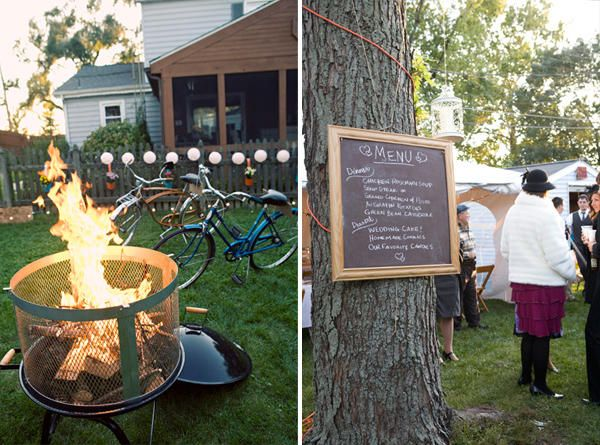 Bonfire reception!  Ideas to make the big day ours