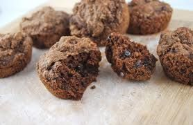 Double Chocolate Chip BRAN muffins | Food Frenzy | Pinterest