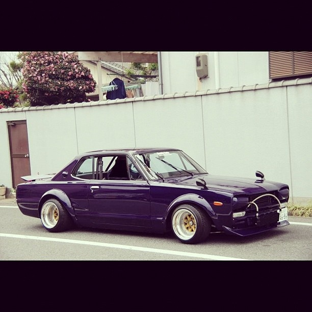 Rocky Auto #hakosuka on #SSR MK2s #superstreet #cars #instagram #iphone4 #photooftheday - @superstreet- #webstagram