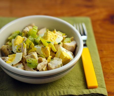 chicken and egg salad with tarragon mustard vinaigrette {The Perfect ...