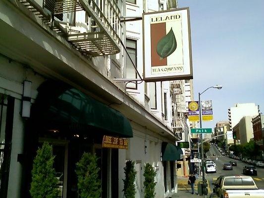 Leland Tea Company - Nob Hill; no coffee, just tea, not a lot of outlets