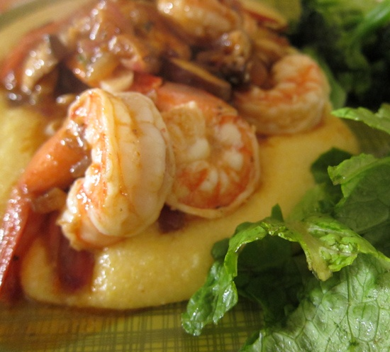 spicy shrimp amp grits by you can count on me via flickr