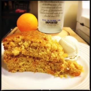 Sticky Orange Cake with Vodka & Marmalade Glaze