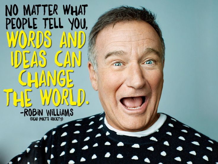 Today we honor a legend who filled generations with laughter. #RobinWilliams #quote #inspirationalquote