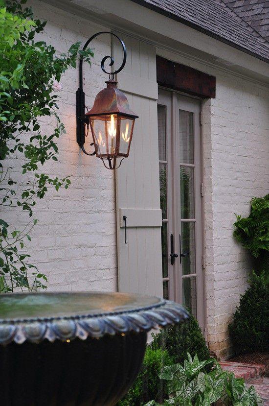 Gas Light So Romantic Dream Home Pinterest