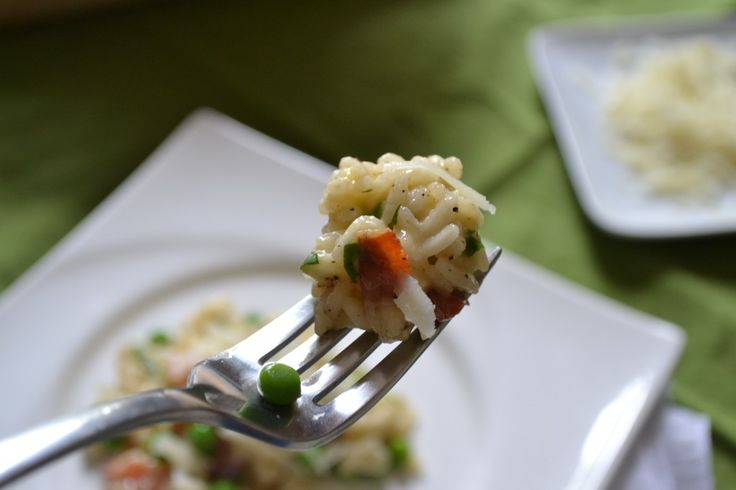 Risotto Carbonara | Me Foodie - Risotto | Pinterest