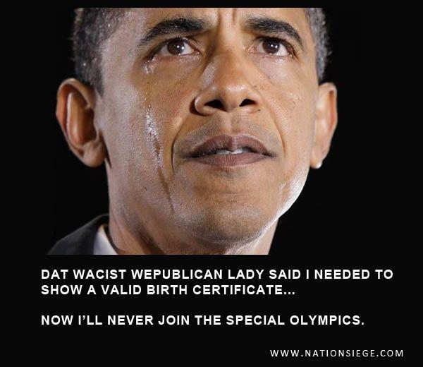 Barack Obama, the first single digit IQ president