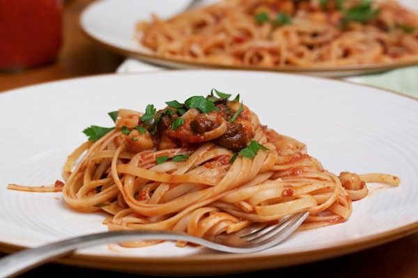 ... puttanesca roasted vegetarian puttanesca sauce pasta puttanesca with