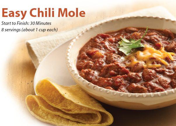 easy chili mole #recipe | recipes I love | Pinterest