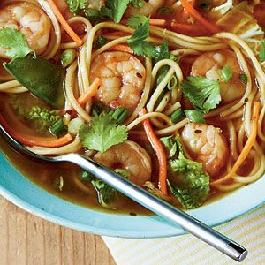 Spicy Shrimp Noodle Bowl | Recipe